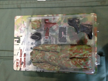 """In The Past Toys 1/6 Scale WWII German Panzer Uniform Set for 12"""" Action Figure #ITPT-000"""